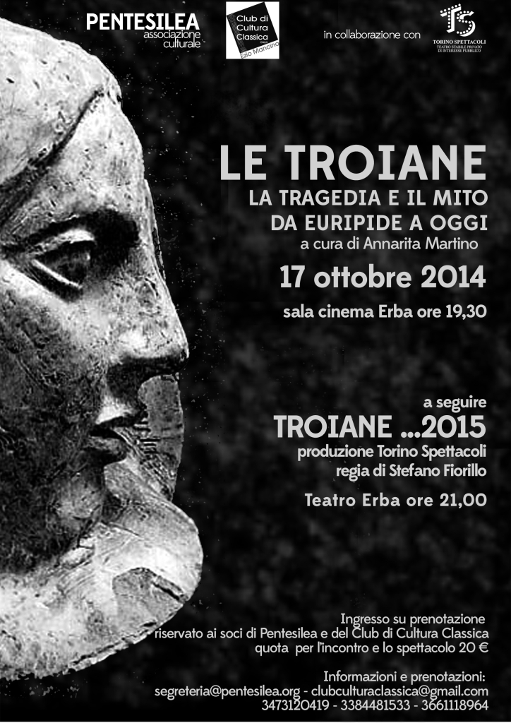 Troiane...2015 - 17/10/2014 - Iniziative CCC - TEATRO