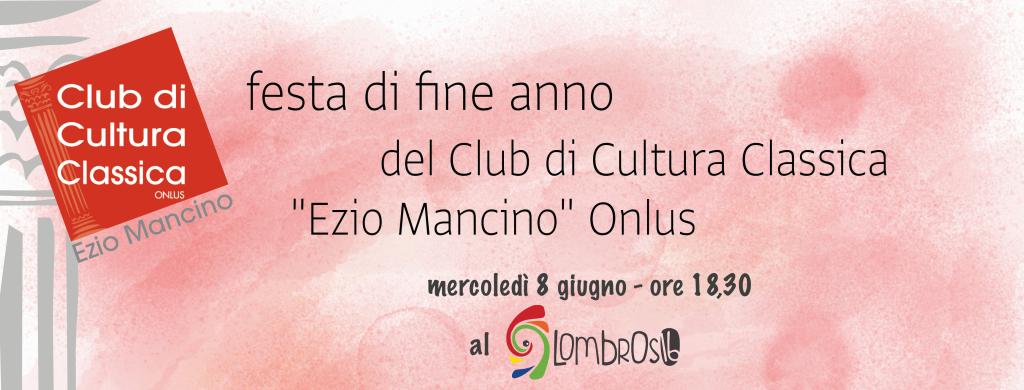 Club di Cultura Classica - Chiusura 12° anno - Cartolina Invito
